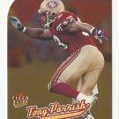 Tony Parrish 2005 Ultra Gold Medallion Card #61 San Francisco 49ers