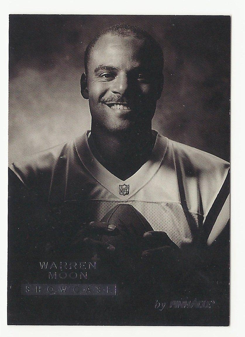 Warren Moon 1995 Pinnacle Showcase #12 Minnesota Vikings