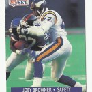 Joey Browner 1991 Pro Set Single Card #568 Minnesota Vikings