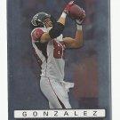 Tony Gonzalez 2009 Topps Platinum Single Card #77 Atlanta Falcons