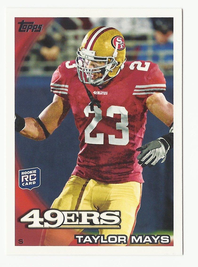 Taylor Mays 2010 Topps Rookie Card #123 San Francisco 49ers/Cincinnati Bengals