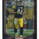 Hines Ward 2009 Bowman Chrome Refractor #94 (195/250) Pittsburgh Steelers