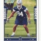 DeMarcus Ware 2005 Score Rookie Card #341 Dallas Cowboys/Denver Broncos