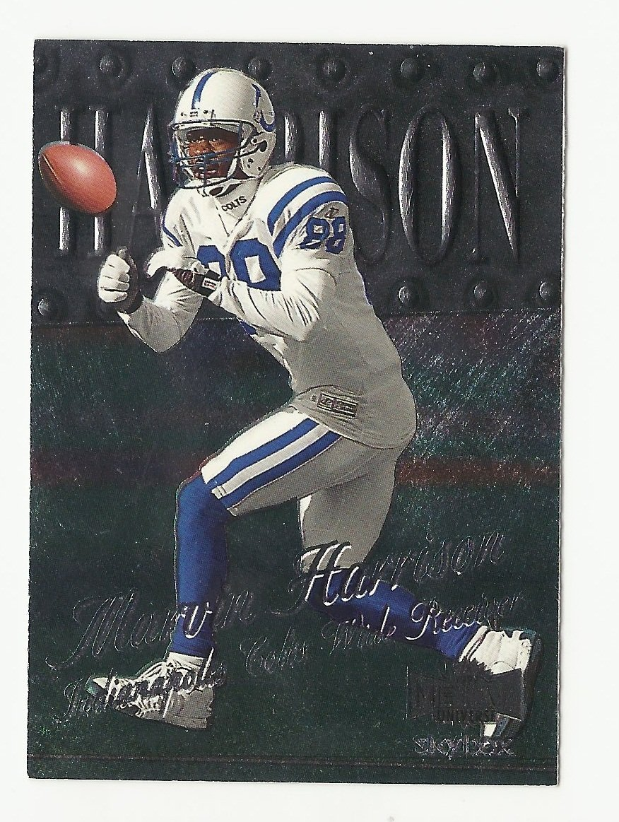 Marvin Harrison 1999 Skybox Metal Universe Single Card #85 Indianapolis Colts