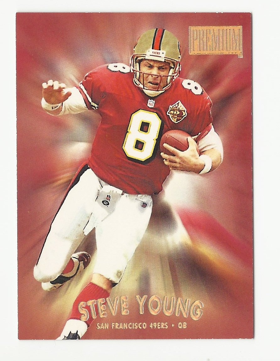 Steve Young 1997 Skybox Premium #53 San Francisco 49ers
