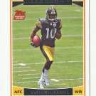 Santonio Holmes 2006 Topps Rookie Card #352 Pittsburgh Steelers/New York Jets