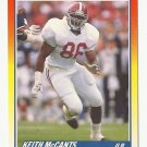 Keith McCants 1990 Score Rookie Card #622 Tampa Bay Buccaneers