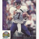 Brock Huard 1998 Collector's Edge Advantage Rookie Card #168 Seattle Seahawks