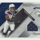 Darren Sproles 2010 Panini Prestige Prestigious Pros Blue #d Jersey #11 San Diego Chargers