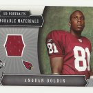 Anquan Boldin 2005 UD Portraits Memorable Materials #MM-AB Arizona Cardinals/San Francisco 49ers