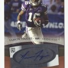Yamon Figurs 2007 Sage Bronze Certified Autograph Rookie Card #A17 Baltimore Ravens/Tennessee Titans