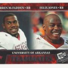 Darren McFadden/Felix Jones 2008 Press Pass Teammates Rookie Card #100 Raiders/Cowboys/Steelers