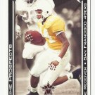 Cedrick Wilson 2001 Pacific Vanguard Prime Prospects Rookie Card #31 San Francisco 49ers