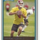 Brodie Croyle 2006 Bowman Rookie Card #156 Kansas City Chiefs