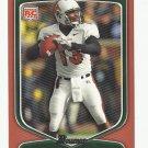 Nate Davis 2009 Bowman Draft Orange Rookie Card #200 San Francisco 49ers