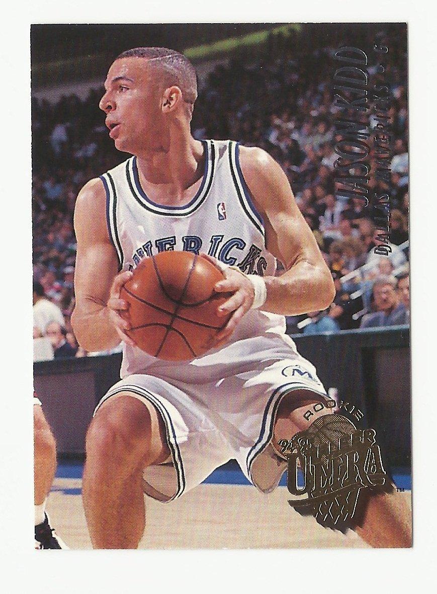 Jason Kidd 1994-95 Fleer Ultra Rookie Card #230 Dallas Mavericks