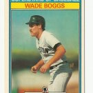 Wade Boggs 1987 Kay Bee Superstars of Baseball Card #4 Boston Red Sox