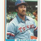 Fergie Jenkins 1982 Topps Single Card #624 Texas Rangers