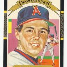 Wally Joyner 1986 Donruss Diamond Kings Card #1 Los Angeles/Anaheim Angels