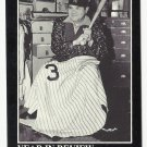 Babe Ruth 1992 Year in Review 1942 Retirement #29 Boston Red Sox/Atlanta Braves/New York Yankees