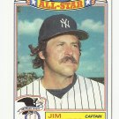 Jim Hunter 1988 Topps All-Star Card #11 New York Yankees