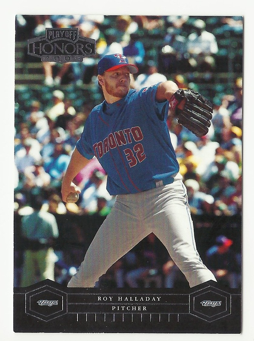 Roy Halladay 2004 Playoff Honors Card #198 Toronto Blue Jays