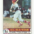 Carlton Fisk 1979 Topps Single Card #680 Boston Red Sox