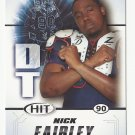 Nck Fairley 2011 Sage Hit Rookie Card #39 Detroit Lions
