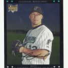 Matt Lindstrom 2007 Topps Chrome Rookie Card #314 Miami Marlins/Baltimore Orioles