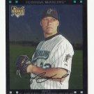 Matt Lindstrom 2007 Topps Chrome Rookie Card #314 Miami Marlins/Baltimore Orioles