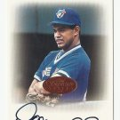 Domingo Cedeno 1996 Leaf Signature Series Certified Autograph Card Toronto Blue Jays