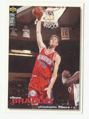 Shawn Bradley 1995 Upper Deck Collector's Choice Card #162 Philadelphia 76ers