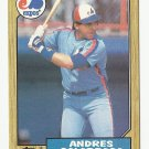 Andres Galarraga 1987 Topps Single Card #272 Montreal Expos/Washington Nationals