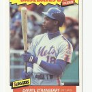 Darryl Strawberry 1986 Fleer Baseball's Best Card #38 New York Mets