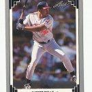 Albert Belle 1991 Leaf Single Card #239 Cleveland Indians