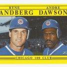 Ryne Sandberg/Andre Dawson 1991 Fleer Superstar Specials Card #713 Chicago Cubs