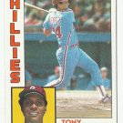 Tony Perez 1984 Topps Single Card #385 Philadelphia Phillies