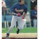 David Justice 1997 Upper Deck Card #298 Atlanta Braves