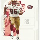 Vernon Davis 2006 Playoff Rookie Card #84 San Francisco 49ers