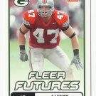 A.J. Hawk 2006 Fleer Futures Rookie Card #101 Green Bay Packers