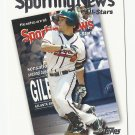 Marcus Giles 2004 Topps Sporting News All-Stars Card #720 Atlanta Braves