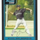 Ryan Spilborghs 2006 Bowman Prospects Card #B56 Colorado Rockies
