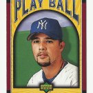 Javier Vazquez 2004 Upper Deck Play Ball Card #124 New York Yankees