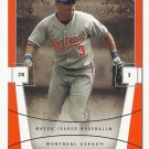 Jose Vidro 2004 Fleer Flair Card #28 Montreal Expos/Washington Nationals