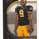 Jeremy Maclin 2009 Press Pass SE Rookie Card #23 Philadelphia Eagles