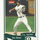 Eric Chavez 2004 Fleer Tradition Card #415 Oakland Athletics