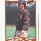 Benito Santiago 1990 Fleer Single Card #167 San Diego Padres/San Francisco Giants