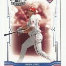 Bobby Abreu 2005 Donruss Throwback Threads Card #53 Philadelphia Phillies/Los Angeles Dodgers