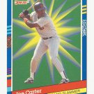 Joe Carter 1991 Donruss Grand Slammers Card #1 Toronto Blue Jays/San Diego Padres