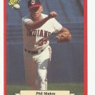 Phil Niekro 1988 Classic Red Card #198 Cleveland Indians
